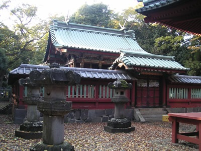 a-kawagoe senba shrine