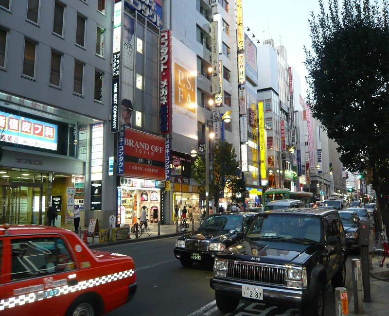 a-shinjuku shopping area